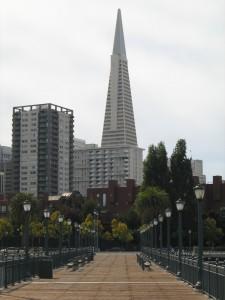 das TransAmerica-Pyramid-Building
