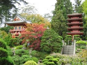 Bebäude in japanischer Bauweise