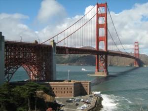 Aufstieg zum Brückenanfang