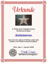 2. Platz - Screenshotraetsel Darth Puma