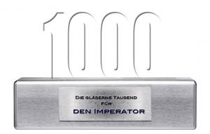 Award für den 1000ten Kommentar